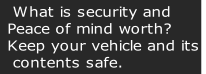 What is security and